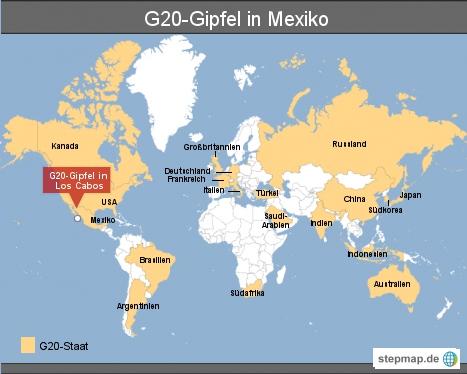 G20-Gipfel in Mexiko