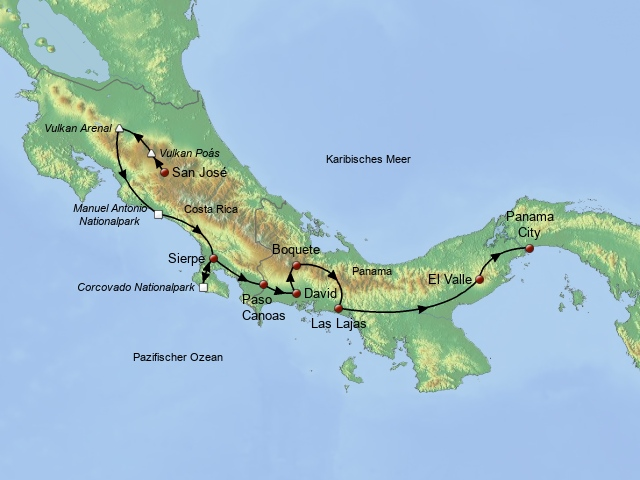 Entdeckertour Costa Rica und Panama