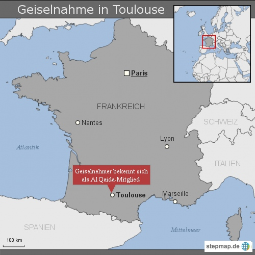 Geiselnahme in Toulouse