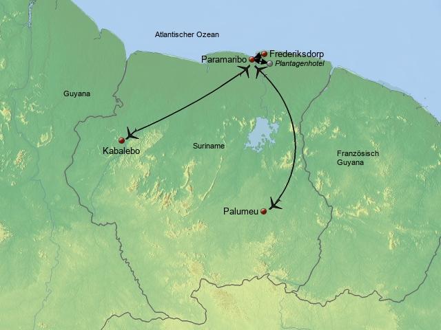 Unbekanntes Suriname