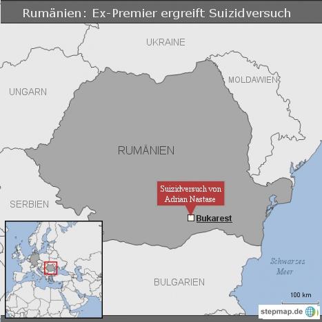 Rumänien: Ex-Premier ergreift Suizidversuch