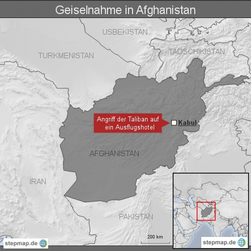 """Geiselnahme in <span class=""""rtr-schema-org"""" itemscope="""""""" itemtype=""""http://schema.org/Place""""><meta itemprop=""""name"""" content=""""Afghanistan"""">Afghanistan</span>"""