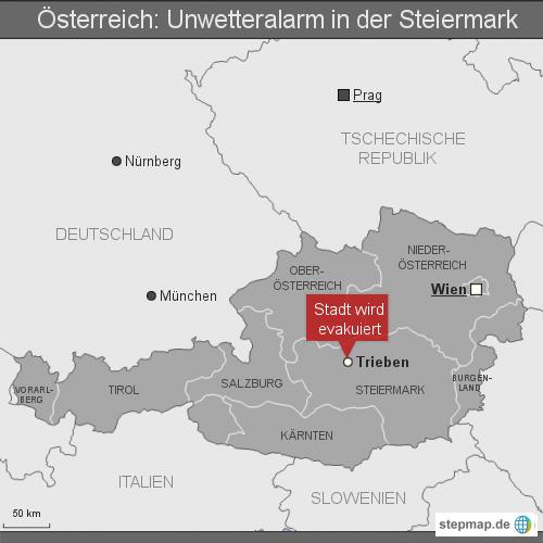 Österreich: Unwetter in der Steiermark