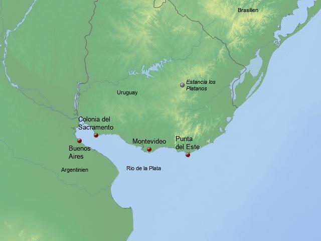 Uruguay Kurztrips
