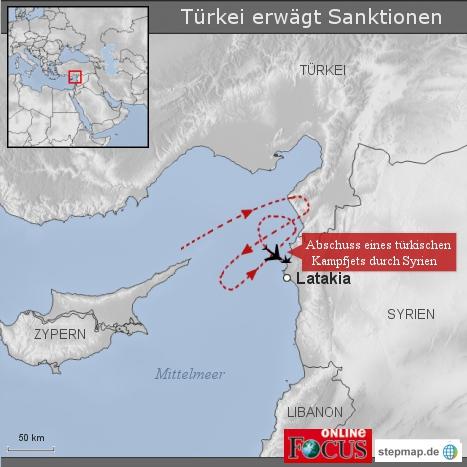 Türkei erwägt Sanktionen