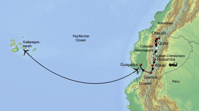 Die ecuadorianischen Anden und Galapagos 1