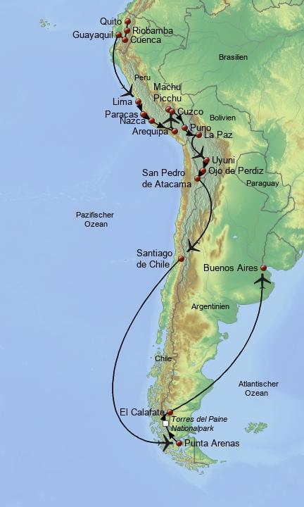 Traumstraße Südamerikas