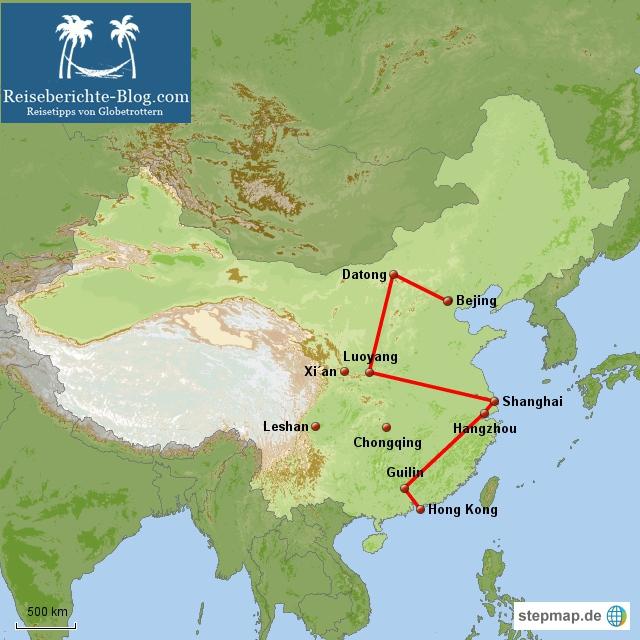 China- Reise September 2012