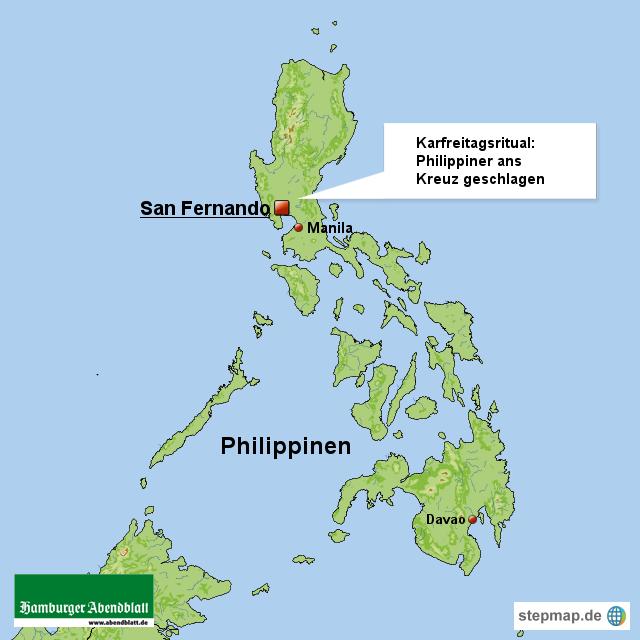Karfreitagsritual: Philippiner ans Kreuz geschlagen