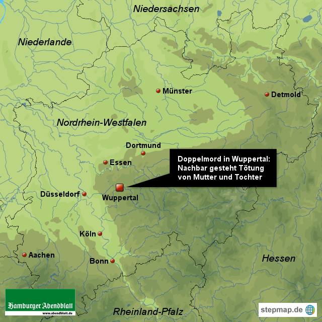 Nachbar gesteht Doppelmord in Wuppertal