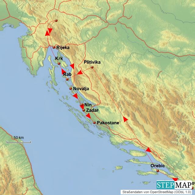 Kroatien 2012