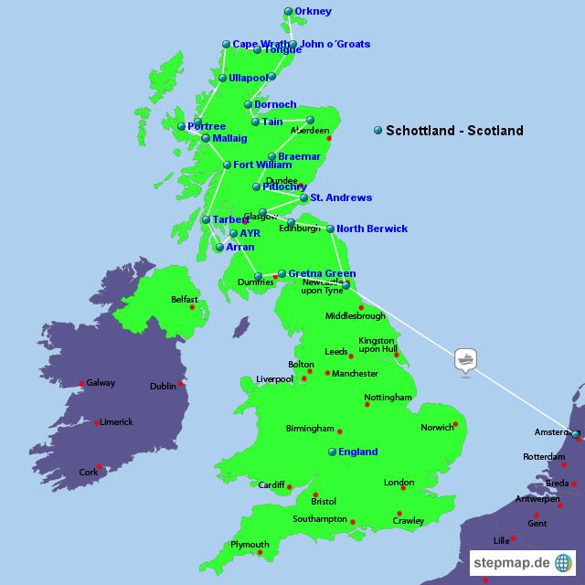 The Long Way Scotland