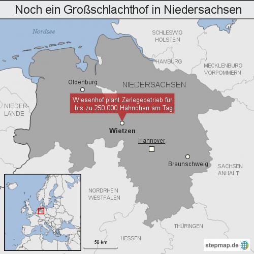 Noch ein Großschlachthof in Niedersachsen