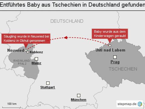 """Entführtes Baby aus <span class=""""rtr-schema-org"""" itemscope="""""""" itemtype=""""http://schema.org/Place""""><meta itemprop=""""name"""" content=""""Tschechien"""">Tschechien</span> in <span class=""""rtr-schema-org"""" itemscope="""""""" itemtype=""""http://schema.org/Place""""><meta itemprop=""""name"""" content=""""Deutschland"""">Deutschland</span> gefunden"""