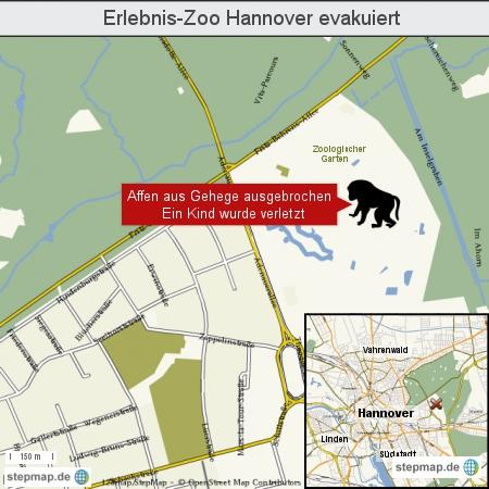 Erlebnis-Zoo Hannover evakuiert