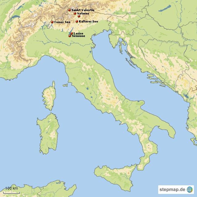 Breckman Norditalien