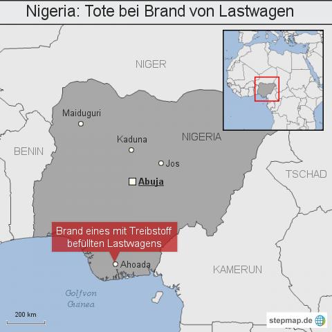 Nigeria: Tote bei Brand von Lastwagen