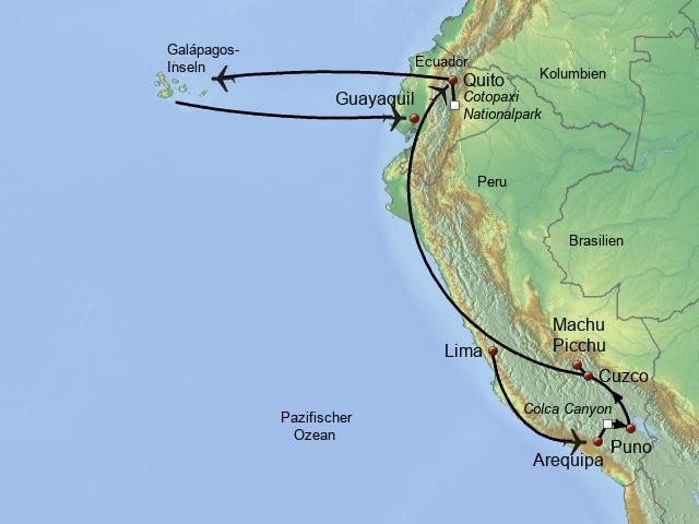 Zwischen Anden, Pazifik