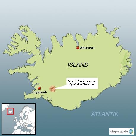 Gletscher-Vulkan wird immer aktiver