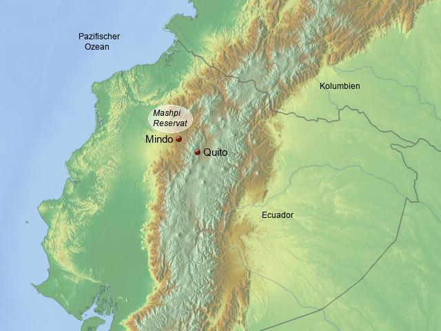 Naturreservate Ecuador