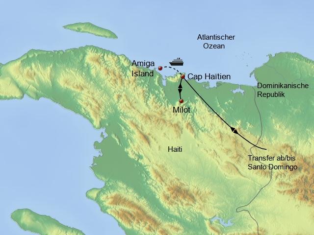 Kurzrundreise Cap Haïtien