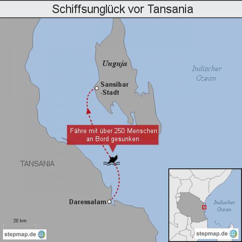 Schiffsunglück vor Afrika