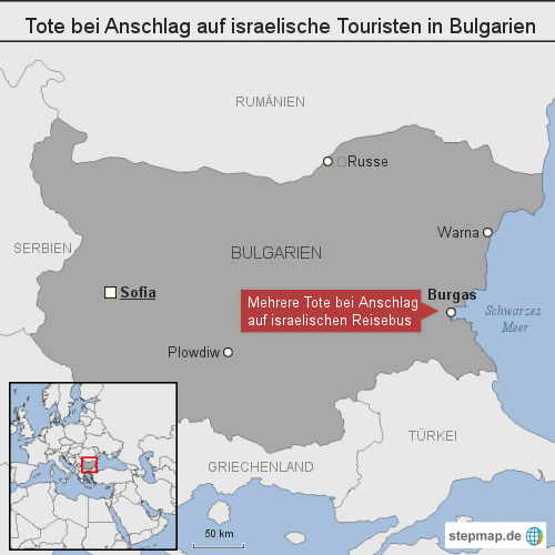 Tote bei Anschlag auf israelische Touristen in Bulgarien