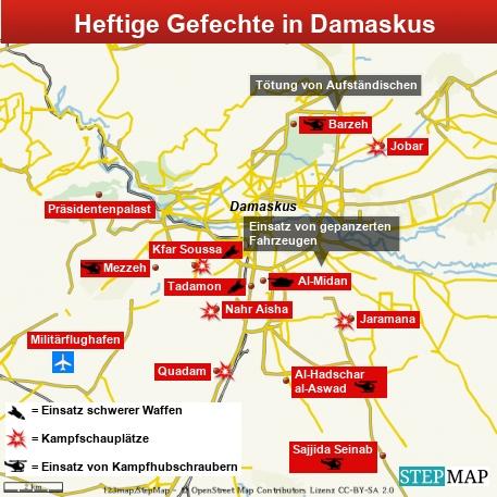 Damaskus Kämpfe