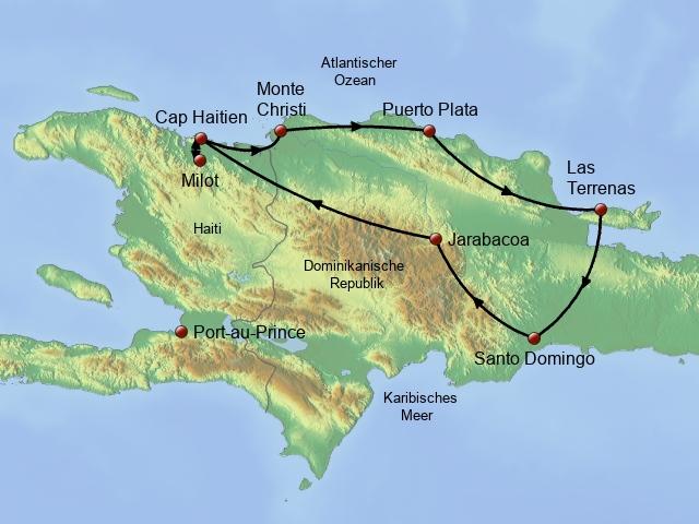 Erlebnis Hispaniola