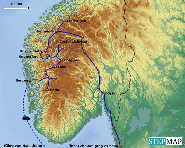Norwegen 2003