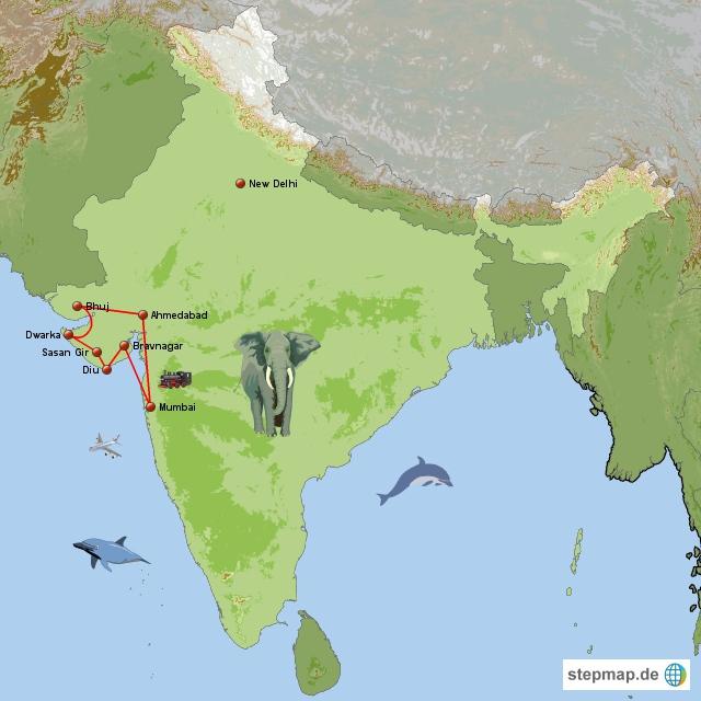 Indien Rundreise Mumbai und Gujarat