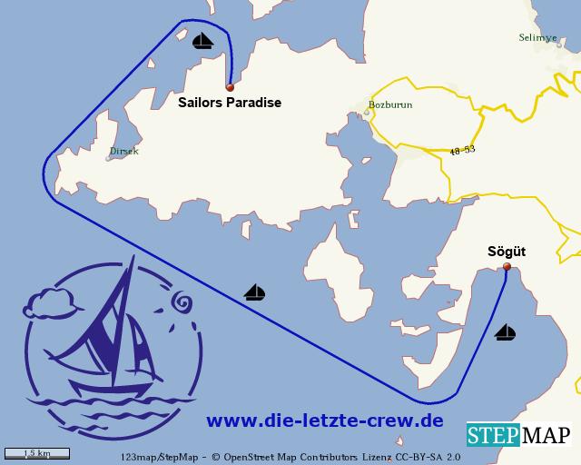 Sailors Paradise - Sögüt  Segeln Türkei
