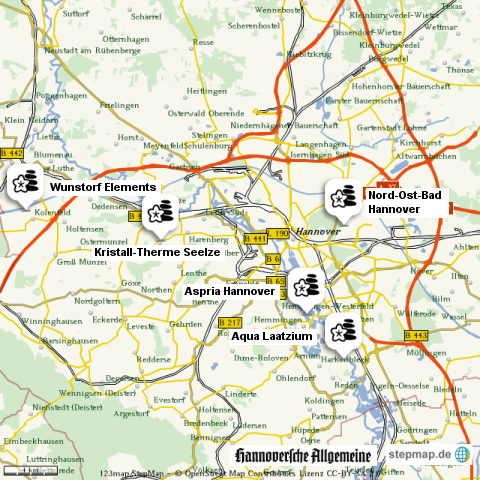 Wellness-Einrichtungen in der Region Hannover