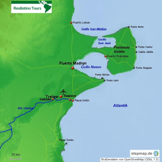 Reisebaustein Halbinsel Valdés