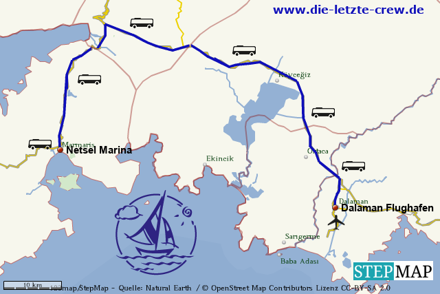 Dalaman - Marmaris Transfer