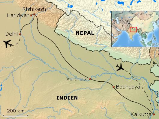 Göttin Ganga - Entdeckungsreise entlang Indiens mystischer Lebensader