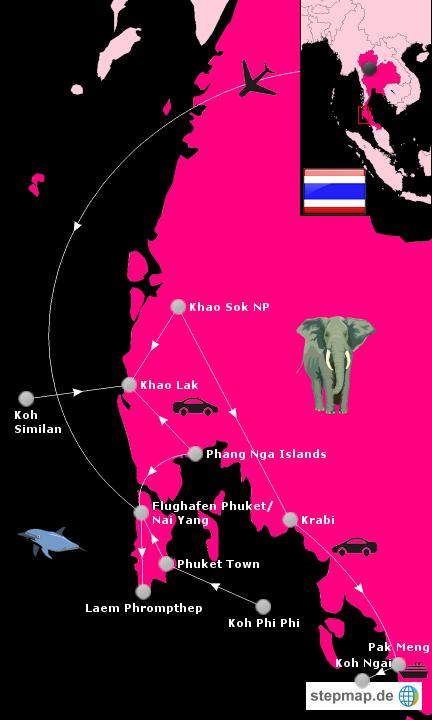 Rundreise Thailand 2012