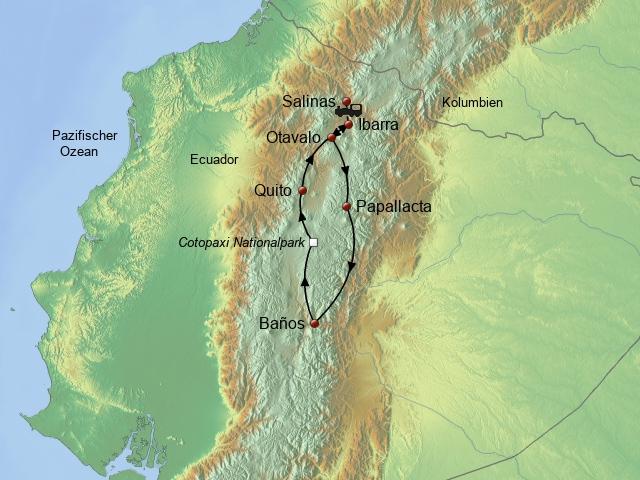 Der Norden Ecuadors