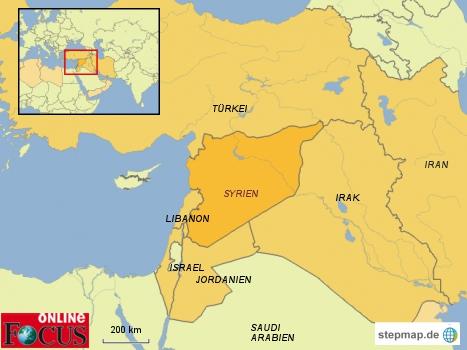 Syrien und Nachbarländer