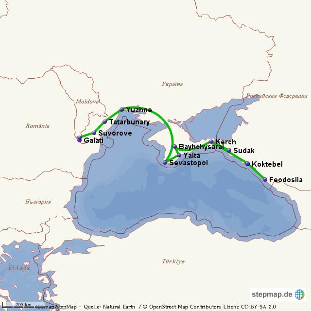 Ukraine und Krim