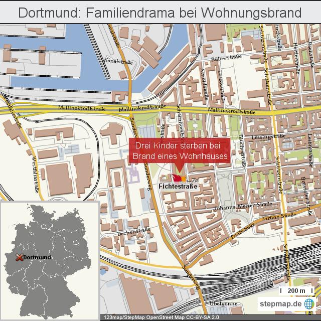 Dortmund: Familiendrama bei Wohnungsbrand