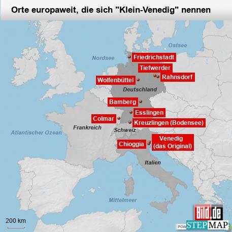 Venedig-Kopien europaweit