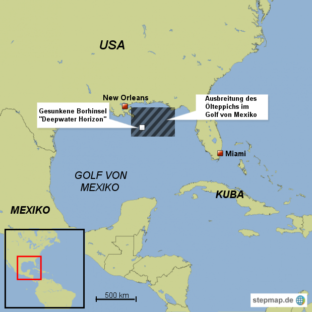 Katastrophe an US-Golfküste