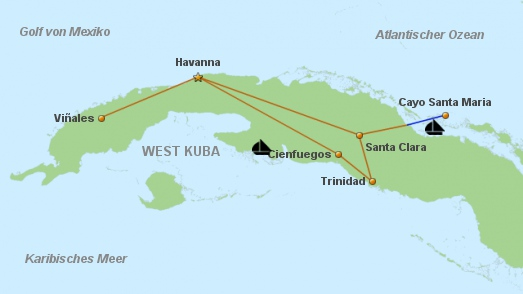 Cuba für Geniesser kurz