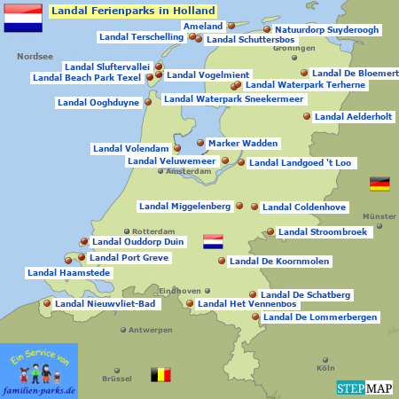 Landal Ferienparks in Holland