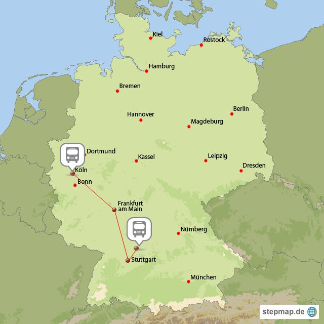 Köln Reise