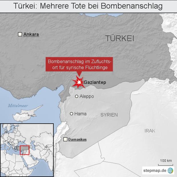 Türkei: Mehrere Tote bei Bombenanschlag