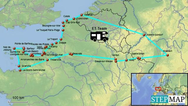 Tour de Normandie 2012