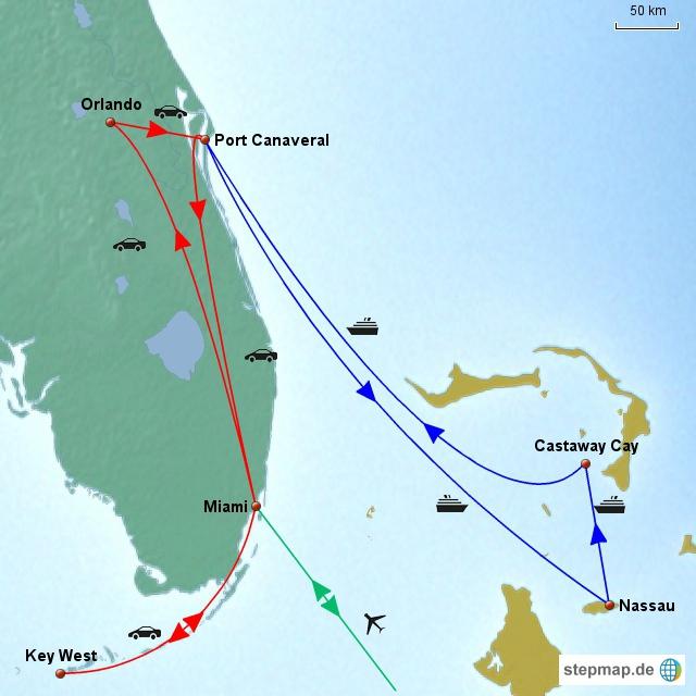Florida & Bahamas 2013
