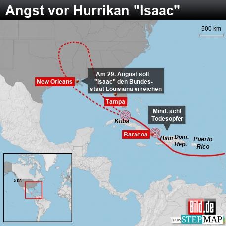 Hurrikan Isaac New Orleans Template - Schwarz - 457 Pixel Breite